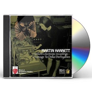 Martin Hannett HOMAGE TO DELIA DERBYSHIRE CD