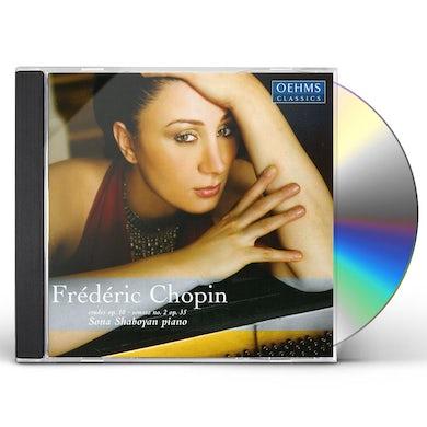 Chopin ETUDES OP 10 / SONATAS NO. 2 CD