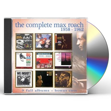 COMPLETE MAX ROACH 1958-1962 CD