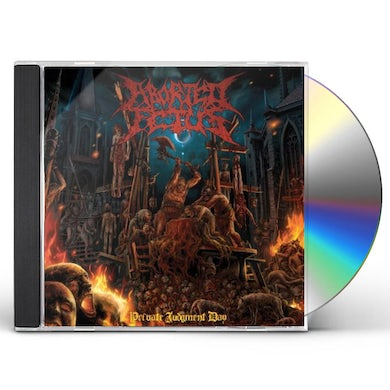 Aborted Fetus PRIVATE JUDGEMENT DAY CD