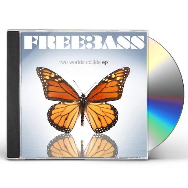 Freebass TWO WORLDS COLLIDE CD