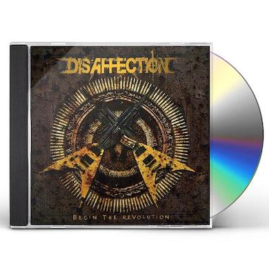 Disaffection BEGIN THE REVOLUTION CD