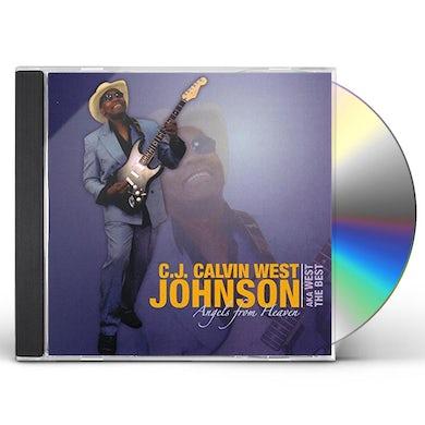 C.J. Johnson ANGELS FROM HEAVEN CD