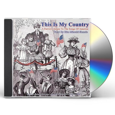 Rita Mizrahi Shamie THIS IS MY COUNTRY (A PATRIOTIC SALUTE TO THE SONG CD