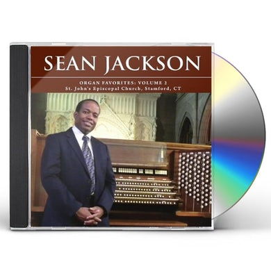 Sean Jackson ORGAN FAVORITES: VOL. 2 CD