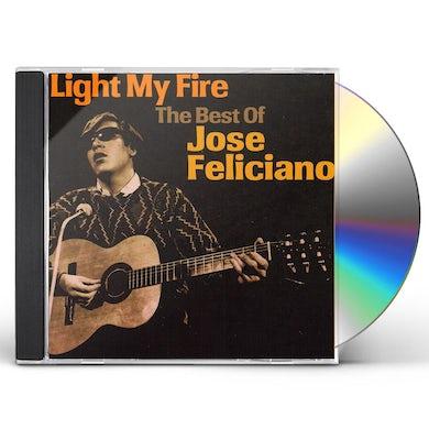 Jose Feliciano LIGHT MY FIRE: BEST OF CD