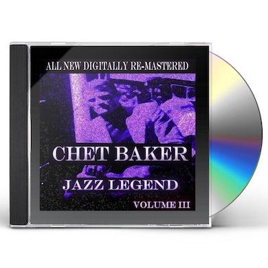 CHET BAKER - VOLUME 3 CD