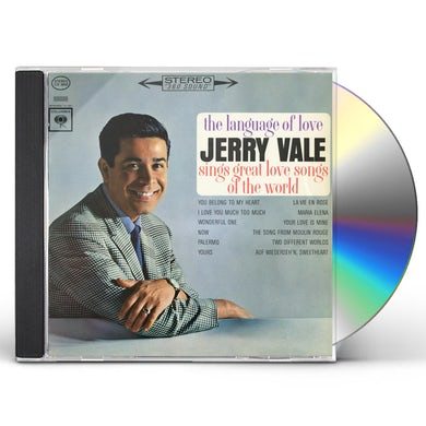 Jerry Vale THE LANGUAGE OF LOVE CD