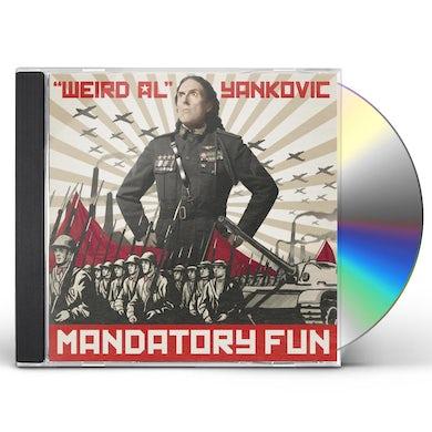 Weird Al Yankovic MANDATORY FUN CD