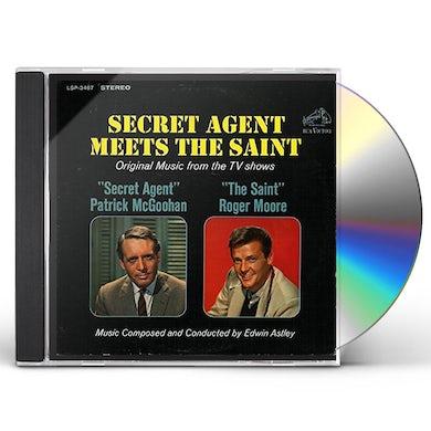 SECRET AGENT MEETS THE SAINT (TV SHOWS) CD