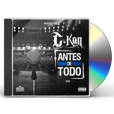 C-Kan ANTES DE TODO VOL. 1 CD