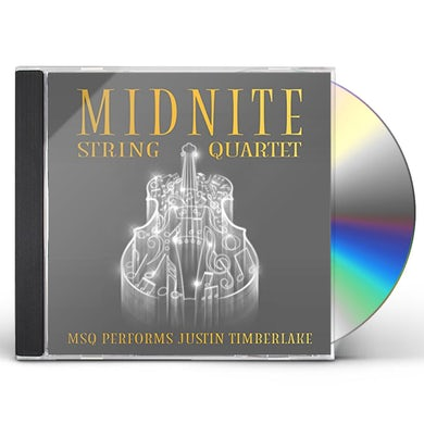 Midnite String Quartet MSQ PERFORMS JUSTIN TIMBERLAKE (MOD) CD