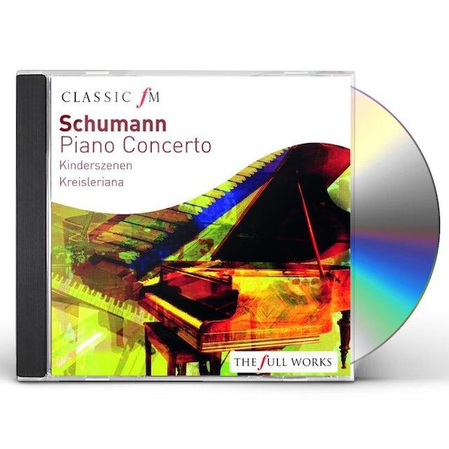 SCHUMANN: PIANO CONCERTO CD