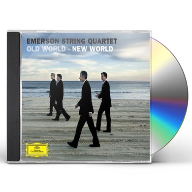 Emerson String Quartet OLD WORLD - NEW WORLD CD
