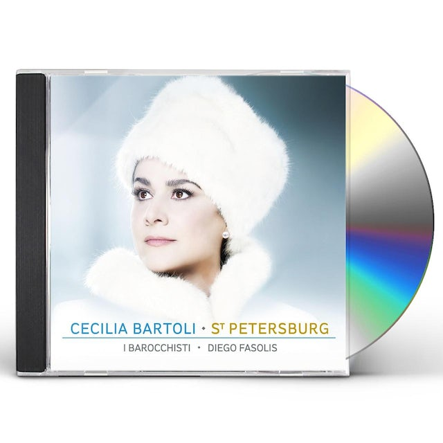 Cecilia Bartoli ST PETERSBURG CD