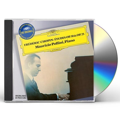 Maurizio Pollini ORIGINALS: CHOPIN - ETUDES OP 10 & OP 25 CD