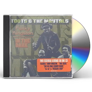 Toots & Maytals FUNKY KINGSTON / IN THE DARK CD