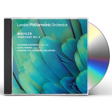 London Philharmonic Orchestra Mahler: Symphony No. 4 CD