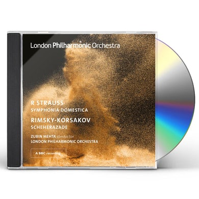 London Philharmonic Orchestra Strauss Symphonia Domestica Rimsky Korsakov CD