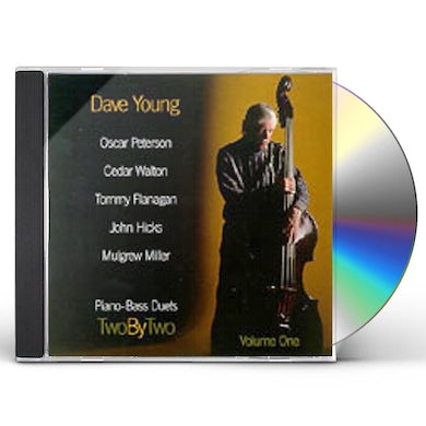 Dave Young TWO BY TWO PIANO BASS DUETS 1 CD