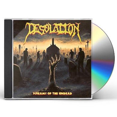Screams of the undead CD