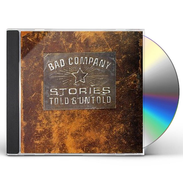 Bad Company STORIES TOLD & UNTOLD CD