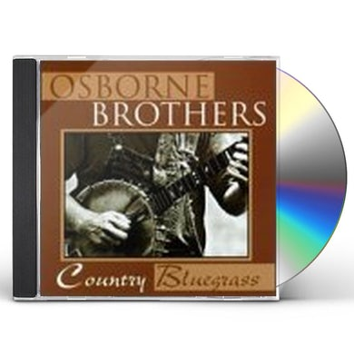 Osborne Brothers COUNTRY BLUEGRASS CD