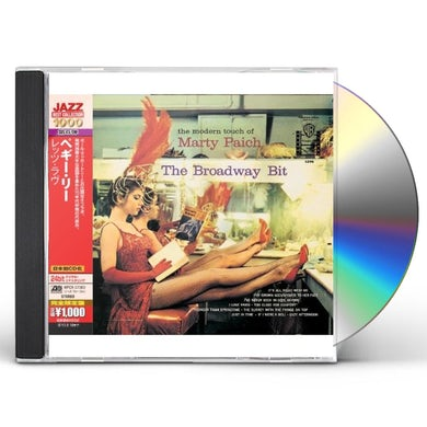 Marty Paich BROADWAY BIT CD