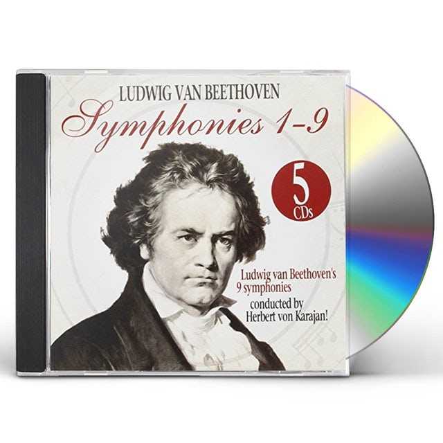 Beethoven / Herbert Von Karajan SINFONIEN 1-9 / SYMPHONIES 1-9 CD