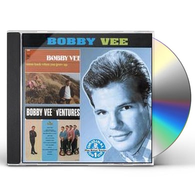 Bobby Vee COME BACK WHEN YOU GROW UP / MEETS THE VENTURES CD