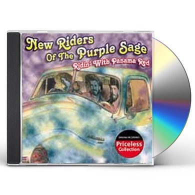 New Riders Of The Purple Sage RIDIN WITH PANAMA RED CD