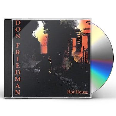 Don Friedman HOT HOUSE CD