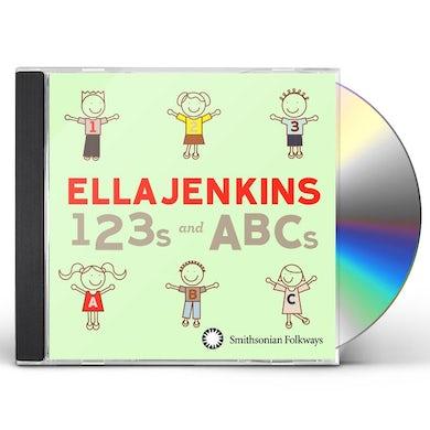 Ella Jenkins 123S & ABCS CD