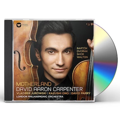 David Aaron Carpenter MOTHERLAND: DVORAK BARTOK SHOR WALTON CD