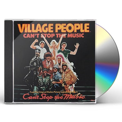 Village People CAN'T STOP THE MUSIC (DISCO FEVER) CD