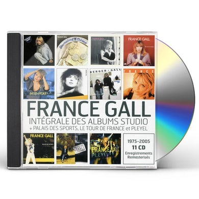 France Gall INTEGRALE DES ALBUMS STUDIOS CD