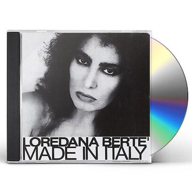 Loredana Berte MADE IN ITALY CD