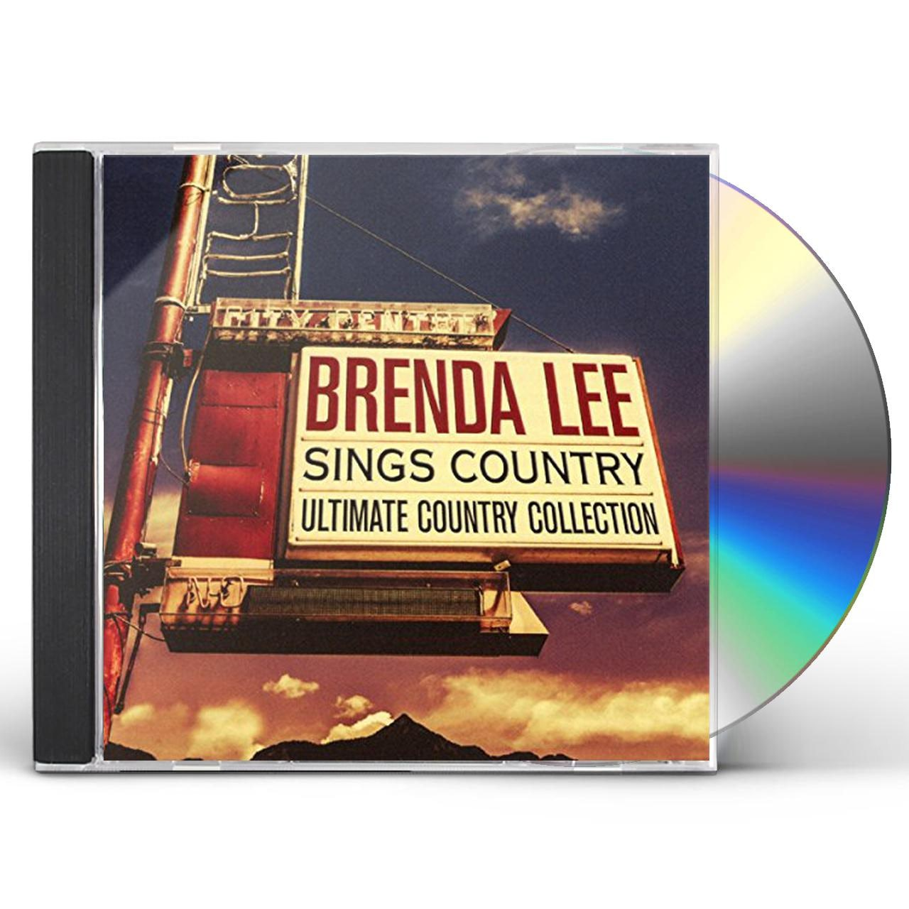 Country The Ultimate Collection: Brenda Lee SINGS COUNTRY: ULTIMATE COUNTRY COLLECTION CD