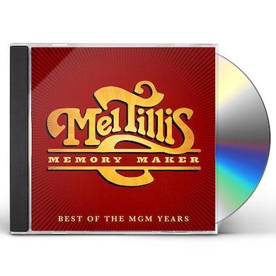 Mel Tillis MEMORY MAKER: BEST OF MGM YEARS CD