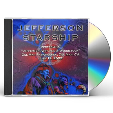 Jefferson Starship PERFORMING JEFFERSON AIRPLANE AT WOODSTOCK CD