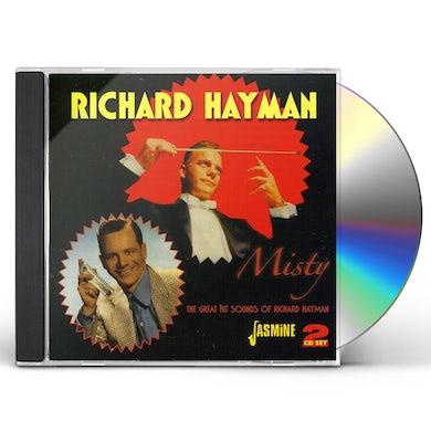 Richard Hayman MISTY / GREAT HIT SOUNDS CD