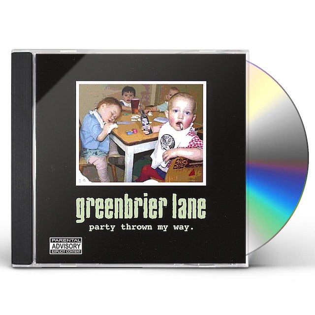 Greenbrier Lane PARTY THROWN MY WAY CD