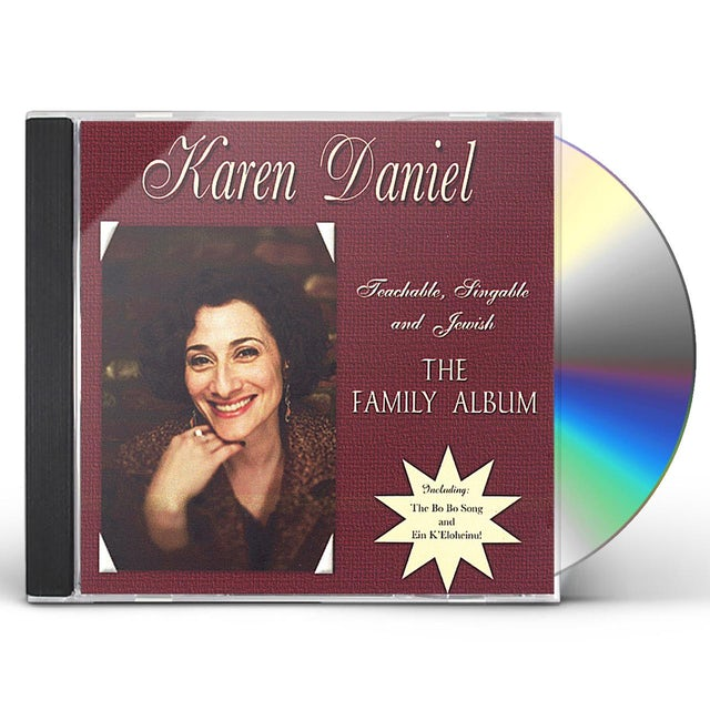 Karen Daniel TEACHABLE SINGABLE & JEWISH: FAMILY ALBUM CD