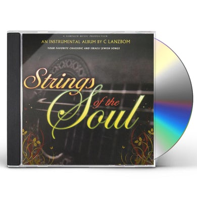 C Lanzbom STRINGS OF THE SOUL CD
