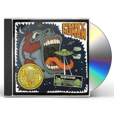 Puny Human UNIVERSAL FREAK OUT CD
