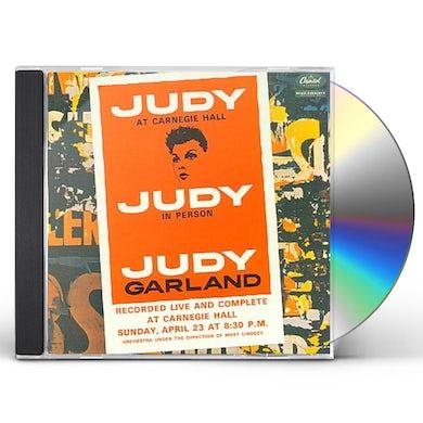 Judy Garland JUDY AT CARNEGIE HALL CD