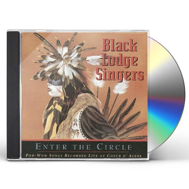 Black Lodge Singers POW-WOW SONGS RECORDED LIVE CD
