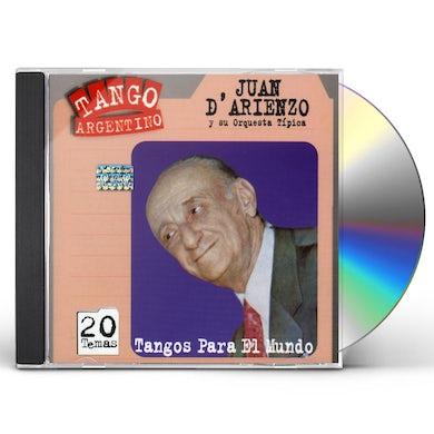 Juan d'Arienzo TANGOS PARA EL MUNDO CD