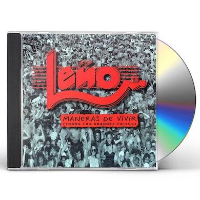 Leno MANERAS DE VIVIR (TODOS LOS GRANDES EXITOS) CD