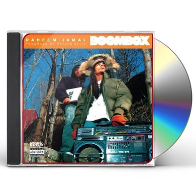 Raheem Jamal BOOMBOX CD
